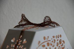 Windlicht mit Gänseblümchen (4) (Medium)