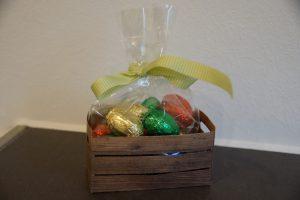 Holzkiste für Ostern (Medium)