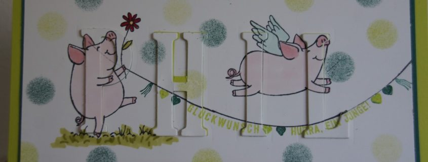 Babykarte-Glücksschweinchen (3) (Medium)